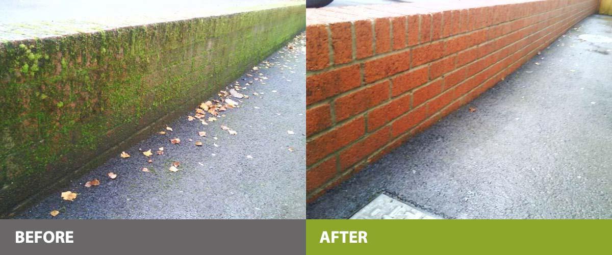 Brickwork cleaned and refurbished